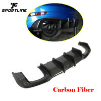 Carbon Fiber Rear Bumper Diffuser Lip Factory Fit For Audi S3 A3 SLINE 2017