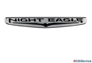"52049532 Sigla Ditta Logo ""NIGHT EAGLE"" Originale Mopar Jeep Renegade"