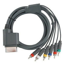 HD TV Component Composite Audio Video AV Cable Cord for Microsoft Xbox 360