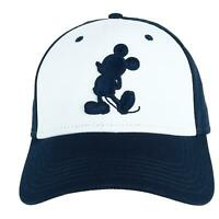 New Jerry Leigh Disney Men's Mickey Mouse Silhouette Baseball Cap