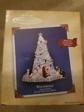 Hallmark Ornament - WINTERFEST - FROSTY FRIENDS Special Anniversary Edition 2004