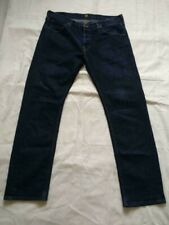 Men's Lee Jeans Classic Modern Style Dark Grey Stretch Casual Pants W33 L30