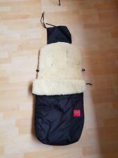 Original Lammfell Kaiser Baby Fußsack Schlafsack für Kinderwagen Buggy Universal