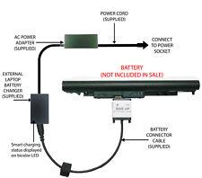 External Laptop Battery Charger for HP 240/245/246/255 G6, JC03 JC04 919701-850
