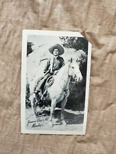 Vintage 1950s Tip Top Bread Cisco Kid Pancho Premium Advertising Photo Card
