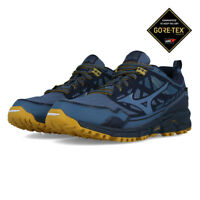 Mizuno Mens Wave Daichi 4 GORE-TEX Trail Running Shoes Trainers Sneakers - Navy