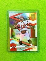 TOM BRADY PRIZM REFRACTOR CARD JERSEY #12 TAMPA BAY BUCCANEERS 2020 Panini ELITE