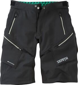 Madison Zenith Mens Cycling Shorts - Black
