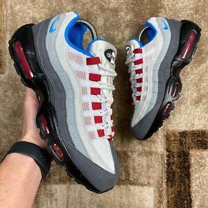 UK 8 2020 Nike Air Max 95 ID Gym Red Photo Blue DJ2661 991 JD 1 90 Neon OG SI