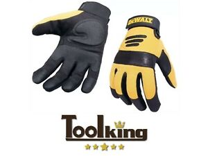 🖐 DeWalt Performance 2 Power Tool Glove Black/Yellow L Large Work Protection