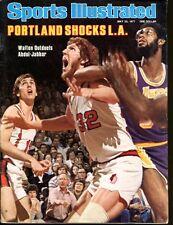 Bill Walton Kareem Abdul Jabbar 1977 Sports Illustrated No Label Newsstand Ex