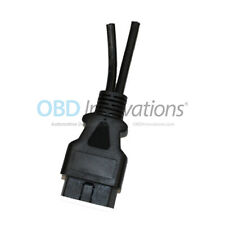 16 Pin OBD2 J1962 Male Connector Y Splitter 2 Pigtails