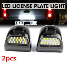 2X Car LED License Plate Light Fit For Chevy Silverado 1500 2500 3500 GMC Sierra