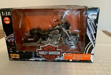 Maisto 1:18 Harley-Davidson Flht Electra Glide, Series 3, 95 Anniversary, In Box
