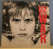 U2 War  1983 UK VINYL LP EXCELLENT CONDITION  ILPS9733