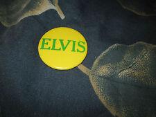 ORGINAL 1970'S ELVIS ON TOUR BUTTON. 2 INCHES