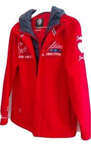 SOCCX Softshelljacke XL Rot Damen