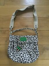 Marc Jacobs Leather Lil Riz Hobo Animal Print Bag £385 New