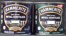 0,75L Hammerite Metallschutz Lack Hammerschlag silbergrau