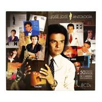 Jose Jose ANTOLOGIA 8 CD's 888750878120 Ultra Rare Limited Qty NOW SHIPPING !