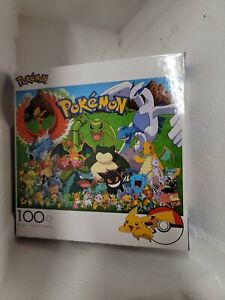 Pokémon Puzzle 100 Pieces For Ages 6+. Brand New Fun Kids Toy