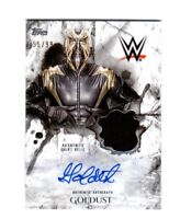 WWE Goldust 2018 Topps Undisputed Autograph Relic Card SN 55 of 99