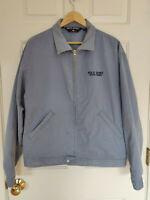Vintage Polo Sport Ralph Lauren Denim Jean Jacket Mens Size Large Zip Up