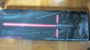 Star Wars Kylo Ren Black Series Hasbro Force FX Deluxe Lichtschwert - Sammler