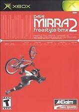 Microsoft XBox Game DAVE MIRRA FREESTYLE BMX 2