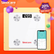 Sinocare Digital Bathroom Scale Weight Fat Scales Body Fitness BMI Bluetooth