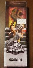 "Exclusive 12"" Velociraptor Action Figure Jurassic World"