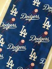 Baby Burp Cloth Made with Rival L A Dodgers /& S F Giants Cotton Fabric Boy Girl