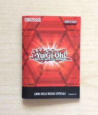 CARD YU-GI-OH! - KONAMI - LIBRO DELLE REGOLE UFFICIALI VERSIONE 9.0 - NUOVA