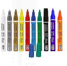 Set 10 couleurs peinture huile based marqueur permanent stylo verre métal bois étanche g
