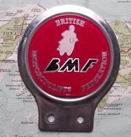 Auto D'Epoca Mascotte Distintivo: British Motociclisti Federazione