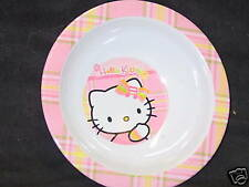 Hello Kitty Kids Plastic Bowls, New (Set of 4)