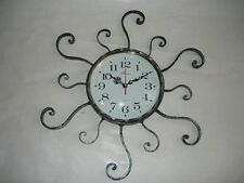 Reloj de pared de cuarzo hierro forjado RAYOS diámetro 70 cm