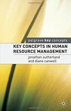 Key Concepts in Human Resource Management (Palgrave Key Concepts) - New Book Can