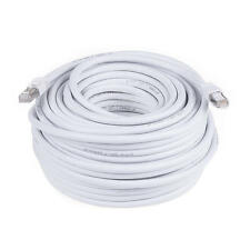 100FT White High Quality Cat 7 (S/STP) Ethernet cable Network Cable