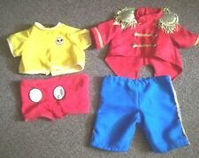MICKEY MOUSE robot WORLDS of WONDER vtg DISNEY toy doll 2 CLOTHES outfits