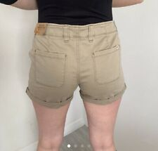 Womens Hollister Brown Shorts Tagged Size 8