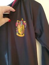Harry Potter Gryffindor Pointed Hooded Cape Robe Cloak Black and maroon Costume