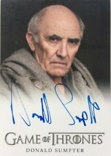 Donald Sumpter Autograph as Maester Luwin from Game of Thrones Season 4