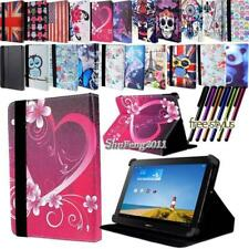 New Folio Stand Leather Cover Case For Various Huawei Models Tablet+ STYLUS