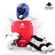 Taekwondo Complete Set Protection And Wt Ladies Men's Children's Equipment Tkd