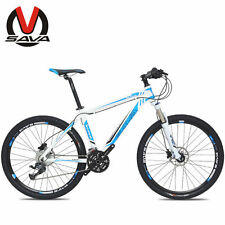 "SAVA 26"" Line Pulling Mountain Bike 27S Bicycle Aluminum Alloy Frame M1 3Colors"