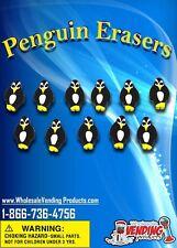 """250 Penguin Erasers In 1"""" Vending Capsules"""