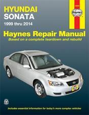 Hyundai Sonata Haynes Repair Manual for 1999 thru 2014 # 43055