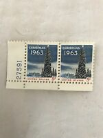 Christmas 1963 5 cent stamps