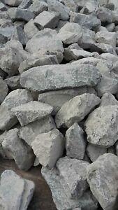 25 kg (1,198 €/kg) Basalt Steine 200 - 400 mm Anthrazit Aquarium Teichbau Splitt